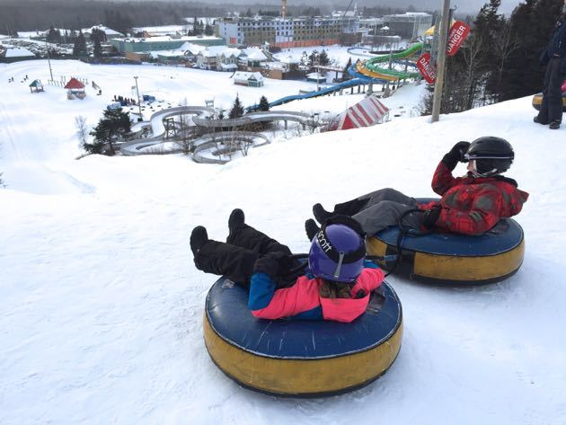 Village Vacances Valcartier Tube Park