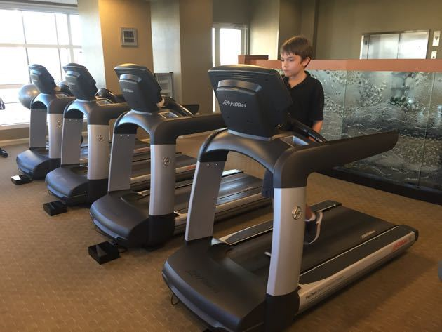Grand Hyatt DFW Airport Gym