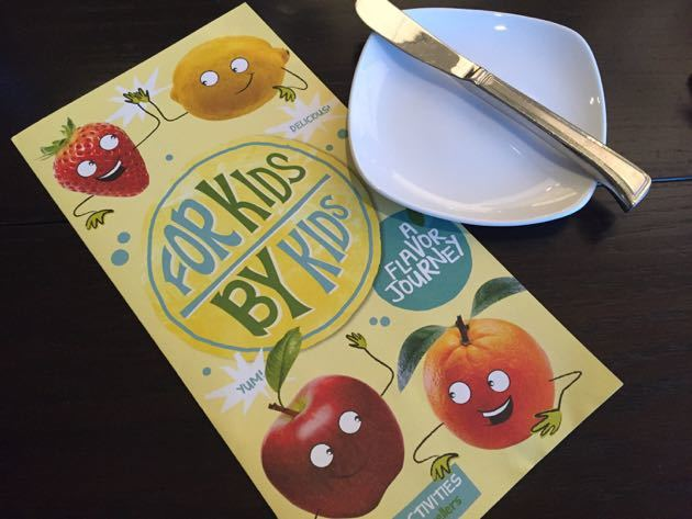 Hyatt For Kids By Kids Menu