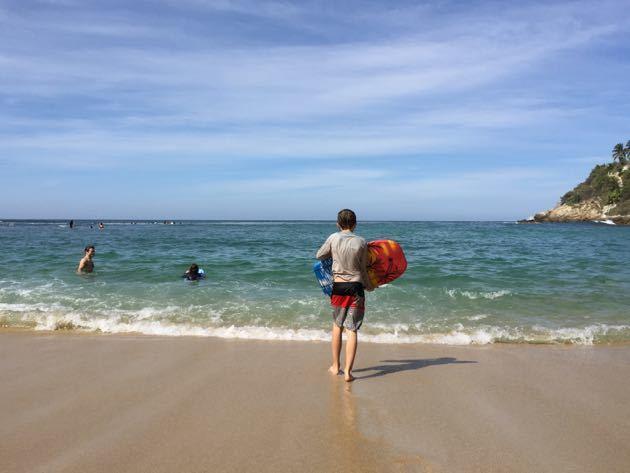 Boogie Boarding Puerto Escondido