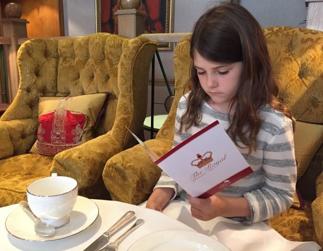 Afternoon Tea in London with Children