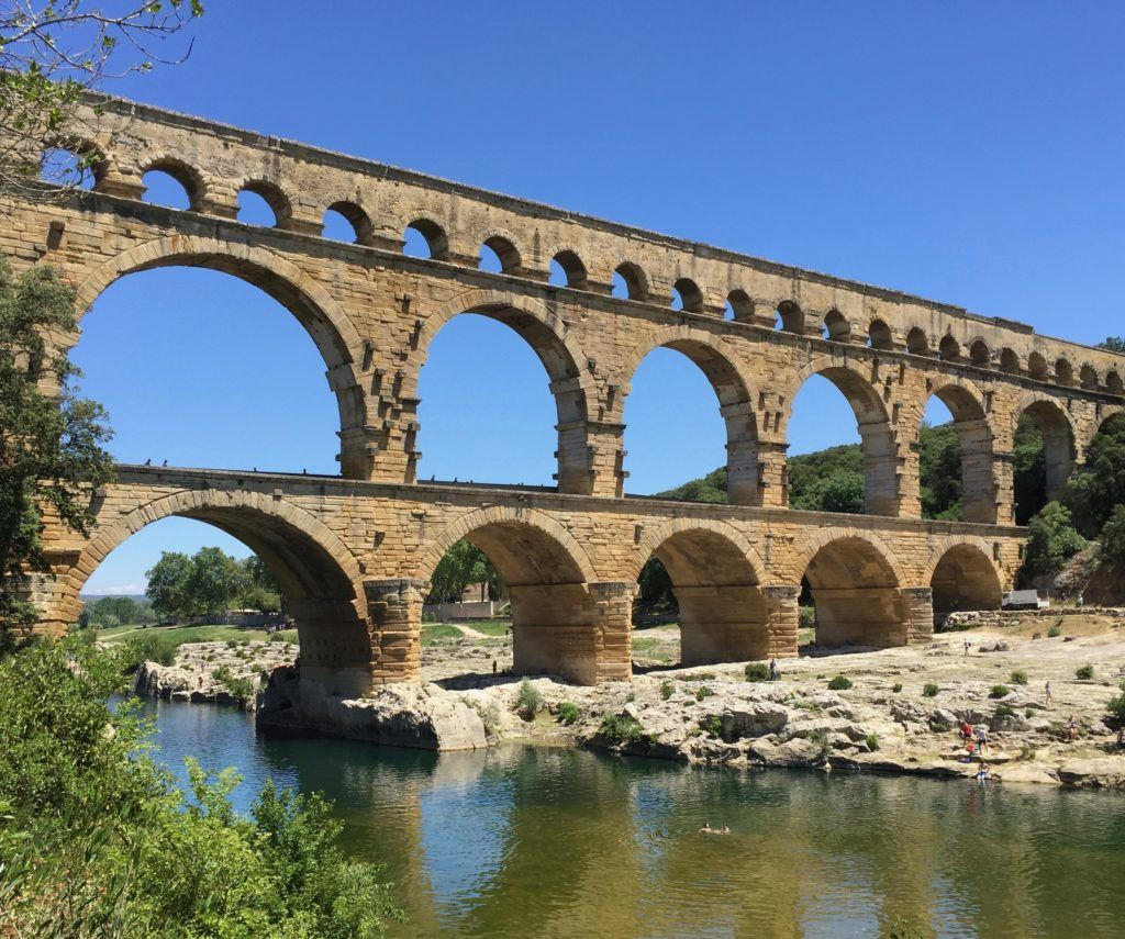 Pont de Gard - France with Kids