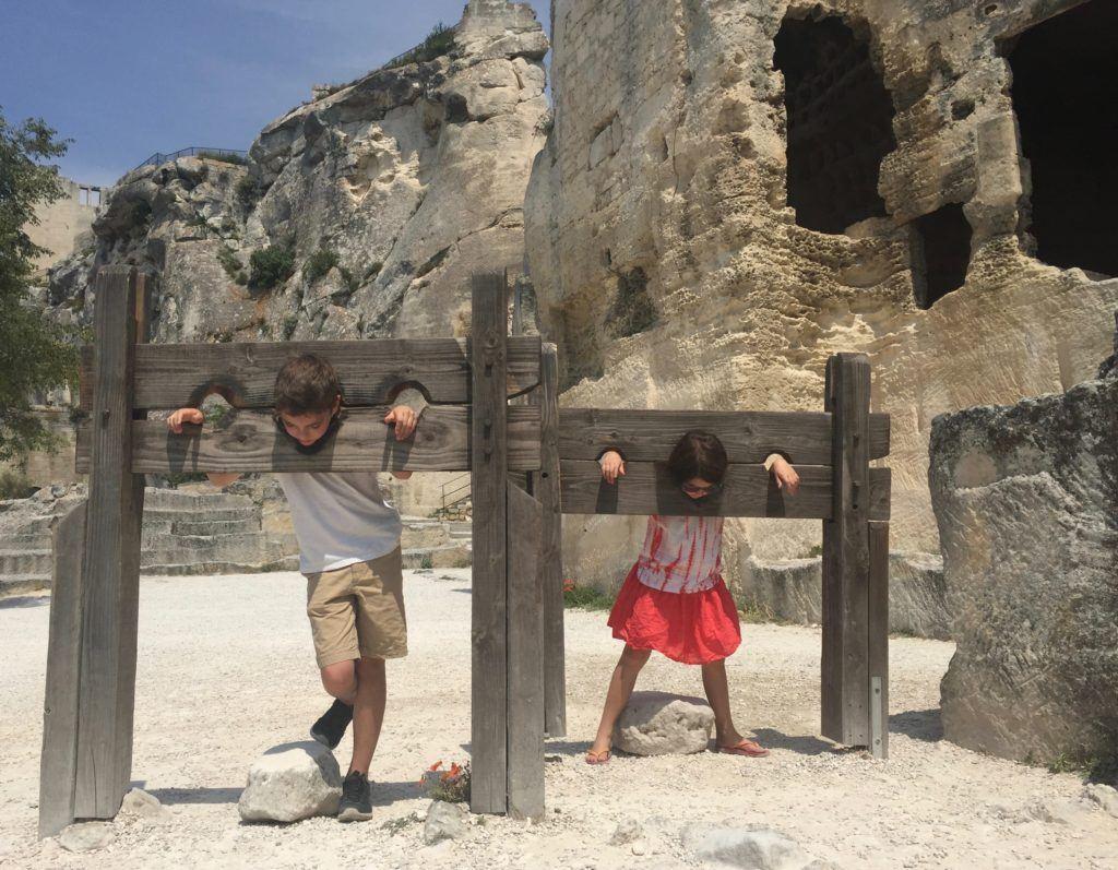 Provence with Kids - Chateaux des Baux