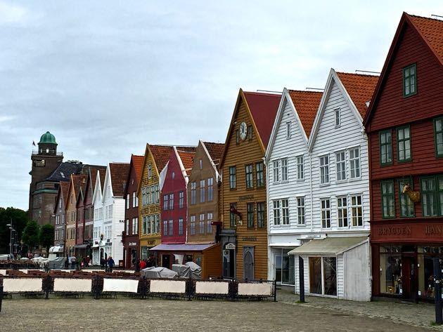 Bryggen with Kids
