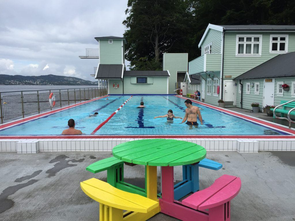 Nordnes Park Outdoor Pool and Sauna