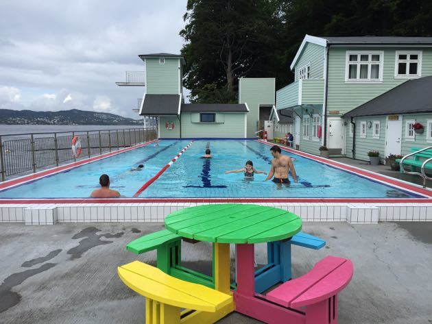 Nordnes Park Outdoor Pool Bergen