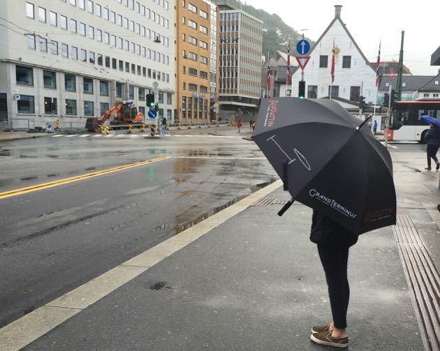 Rain in Bergen