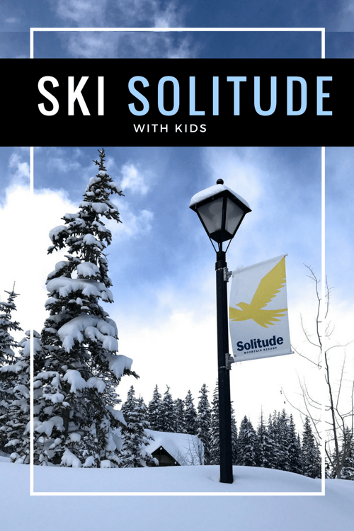 Solitude Ski Resort with Kids