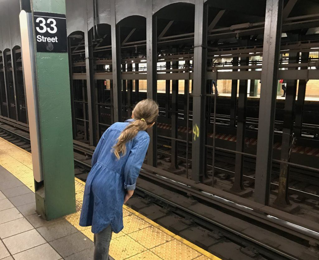 Riding the New York Subway with Kids