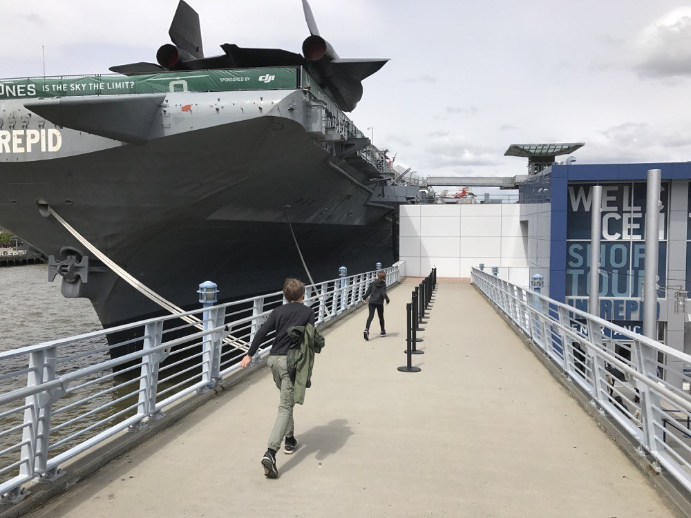 The Intrepid NYC