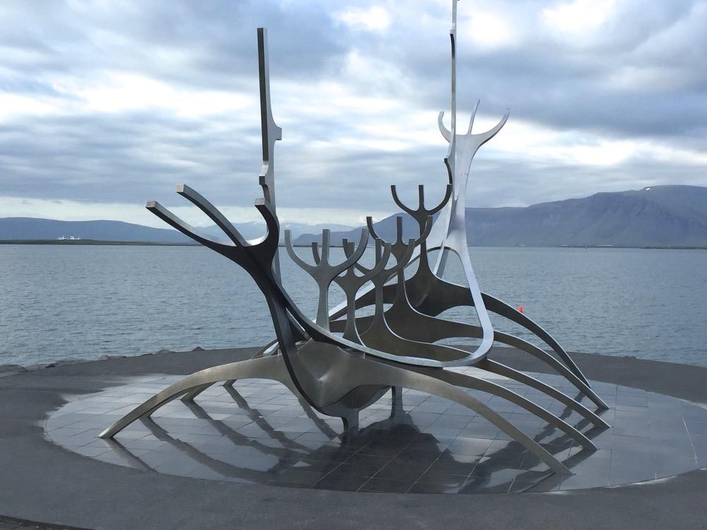 Sun Voyager Boat Sculpture Reykjavik