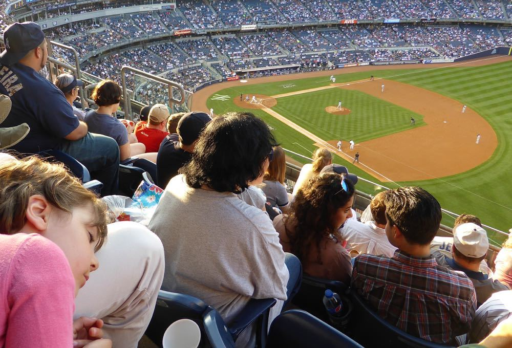 Yankee Stadium with Kids