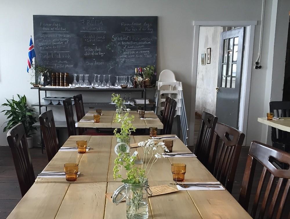 Slippurinn Restaurant