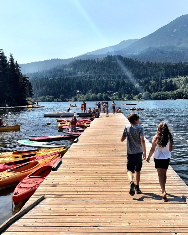 Whistler with Kids - Summer