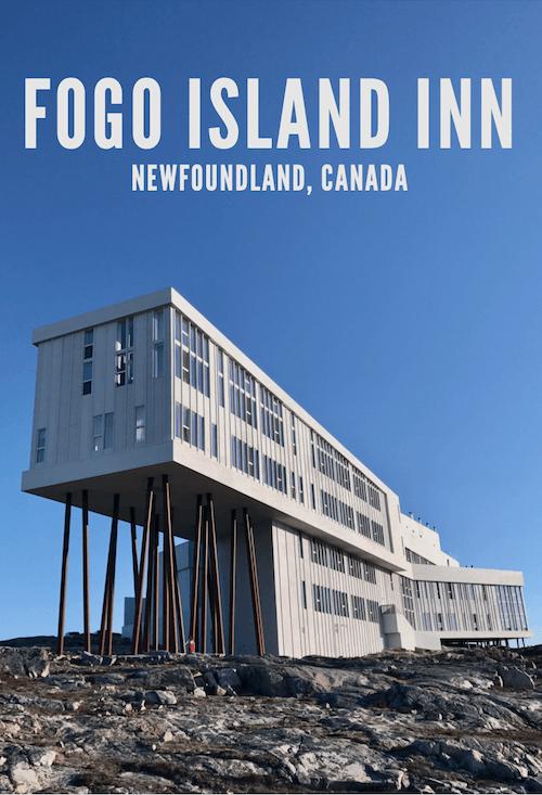 Fogo Island Inn Newfoundland