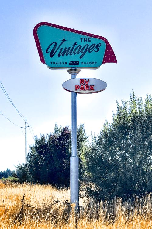 Vintage Trailer Resort >> Glamping Oregon Getaway At The Vintages Trailer Resort