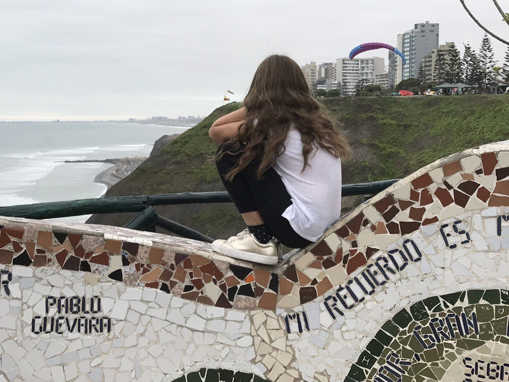 Lima with Kids - El Malecon