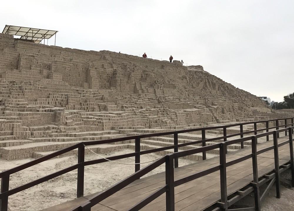 Huaca Pucllana Lima Pyramid