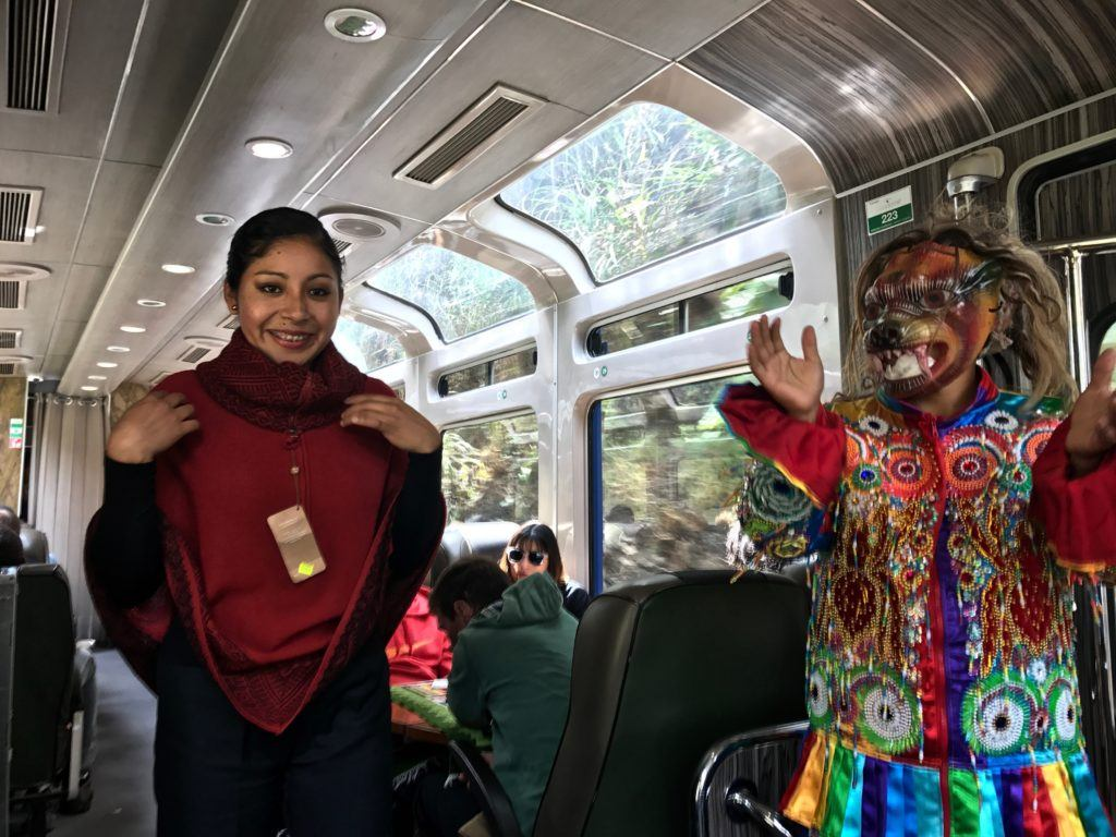 Peru Rail Vistadome Train
