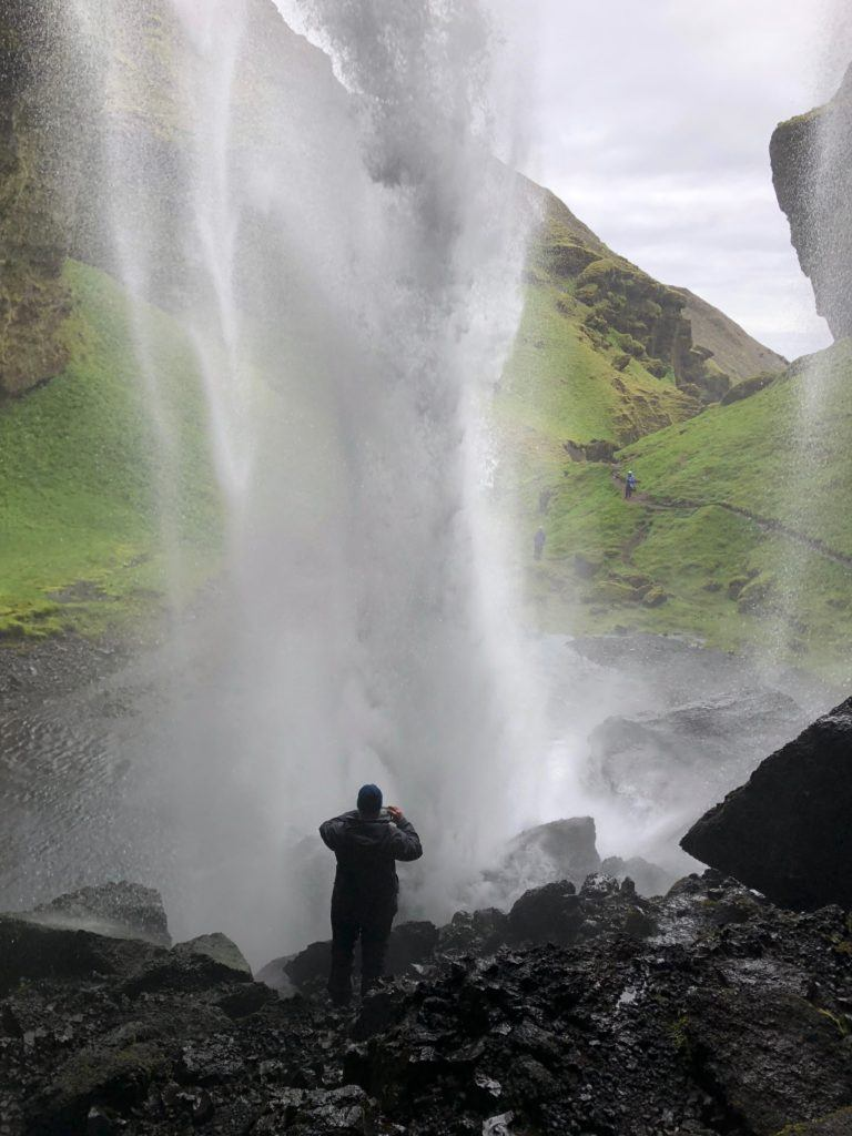 The Secret Waterfall Iceland