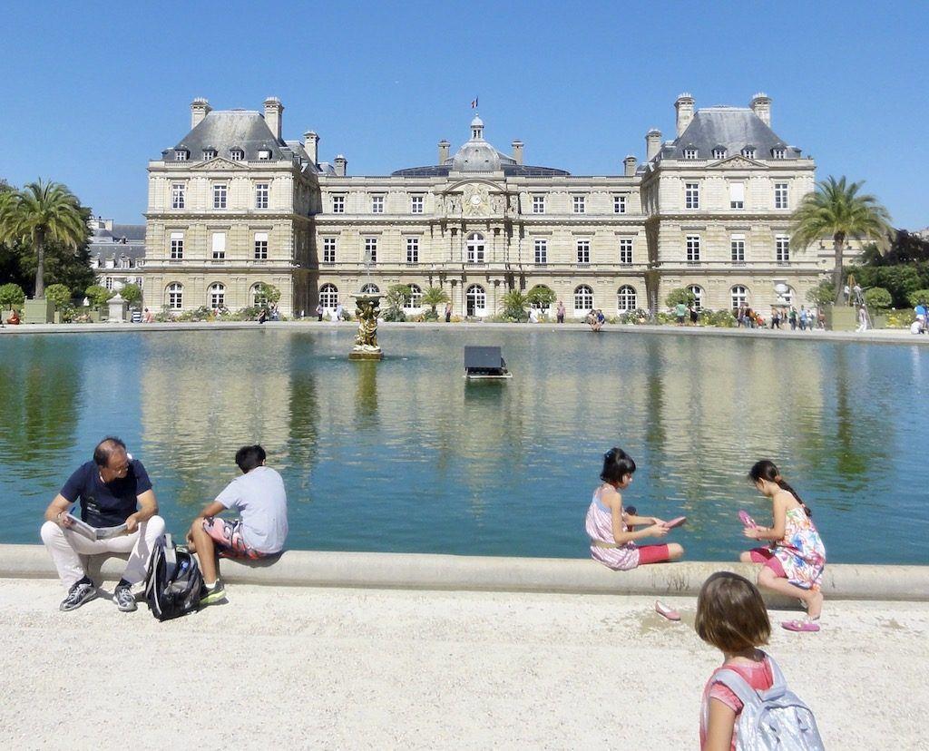 Jardin Luxembourg – Luxembourg Gardens Paris