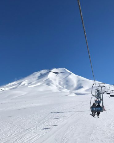 Summer Vacation Skiing in Chile – Corralco Ski Resort