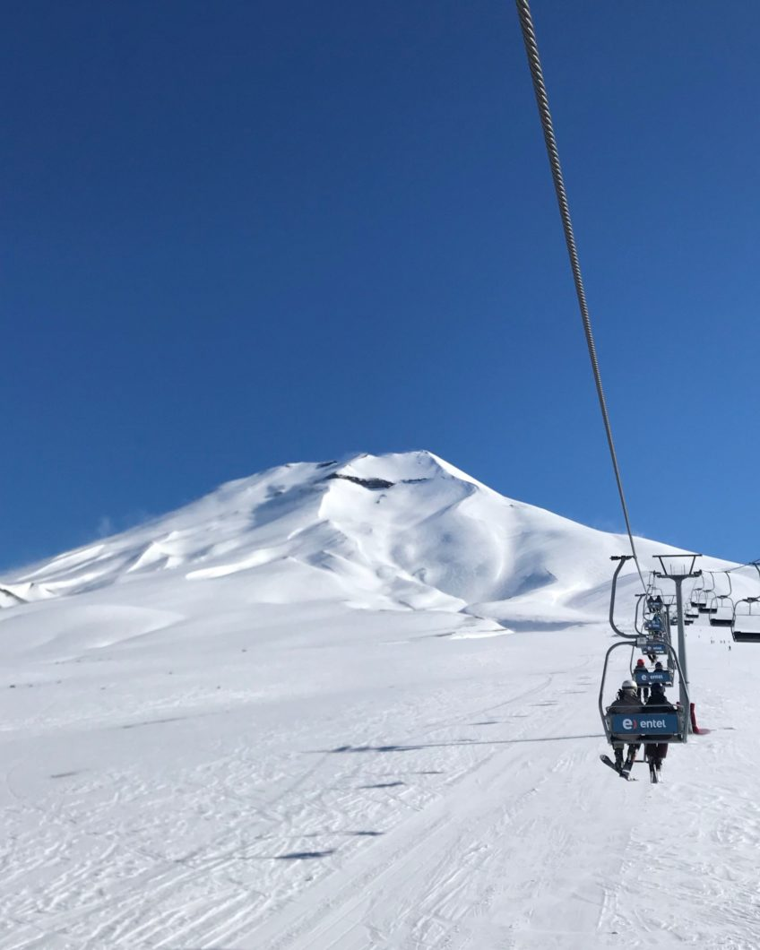 Summer Vacation Skiing in Chile – Corralco Ski Resort
