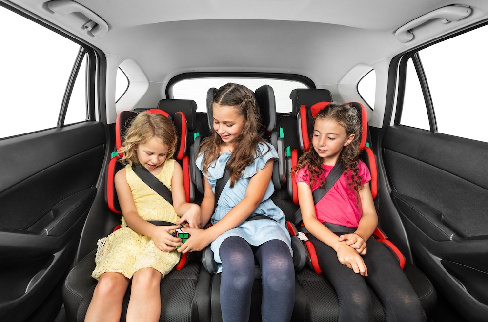hifold 3 in a row booster seat