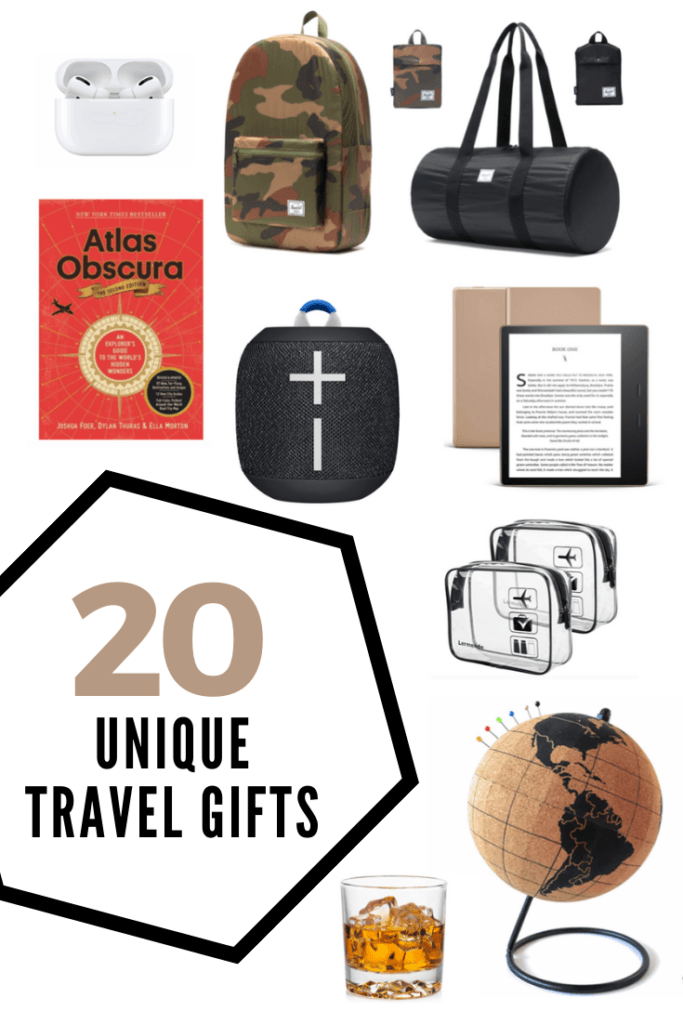20 Unique Travel Gifts for Men and Women
