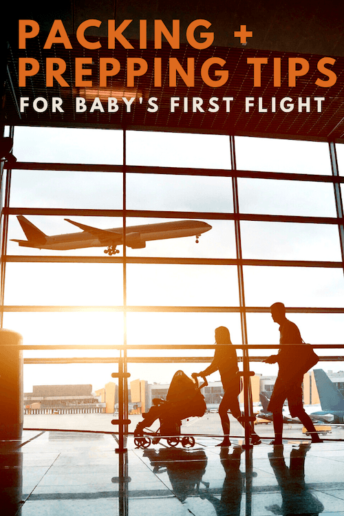 Flying with Baby Packing Tips