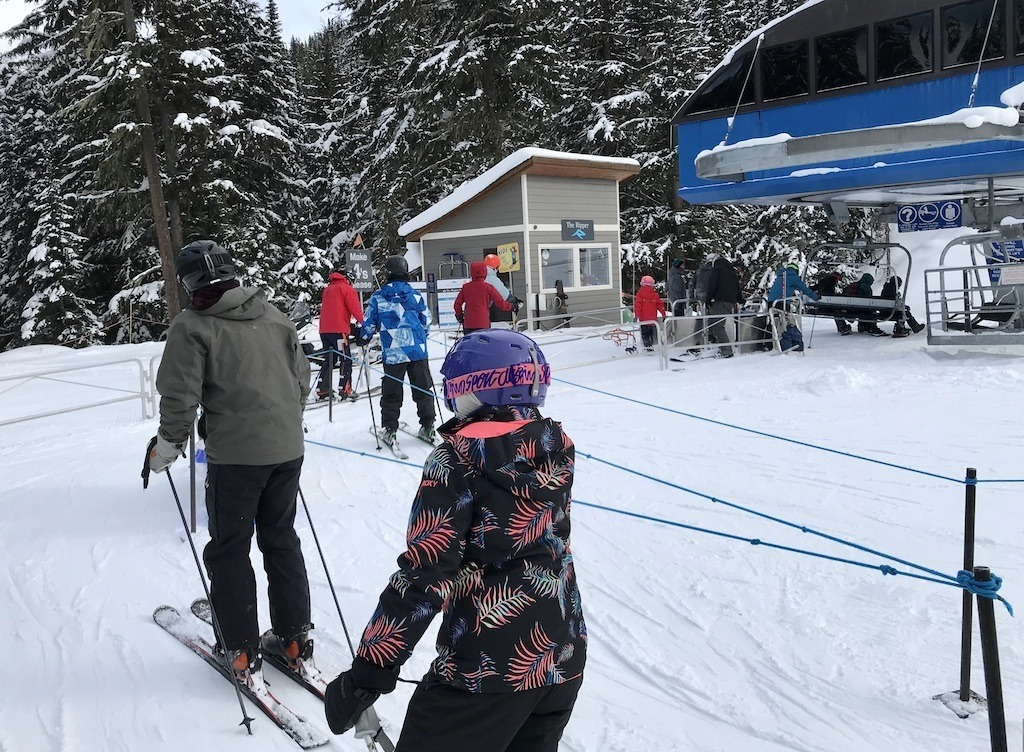 Skiing in Revelstoke – Lift Lineups